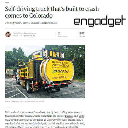 Autonomous TMA Truck