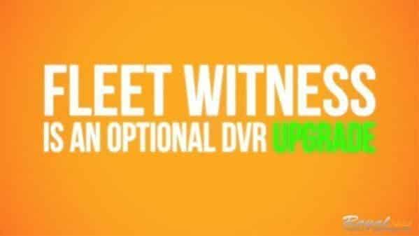 How to Get DVR Fleet Witness