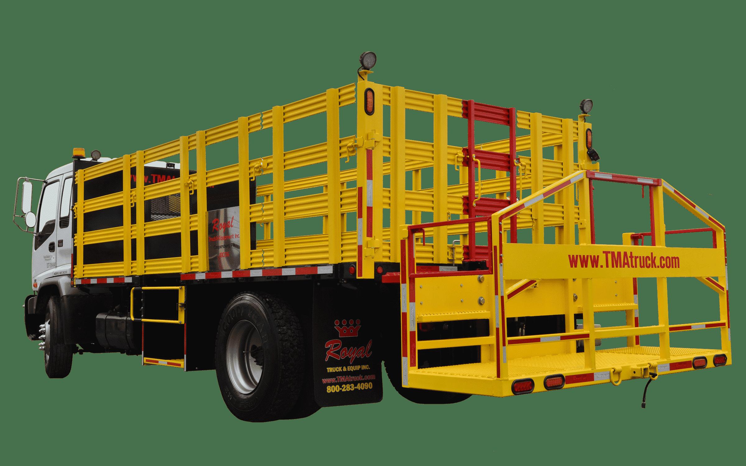 Cone Truck Body Upfits