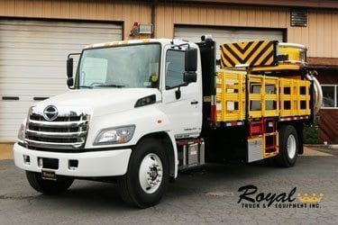 Royal Tuck & Equipment TMA Truck
