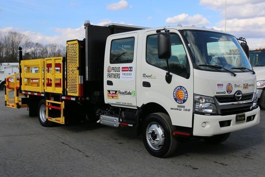 2017 Hino 195DC Traffic Control Truck
