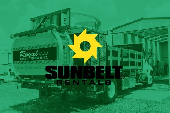 TMA Trucks at Sunbelt Rentals