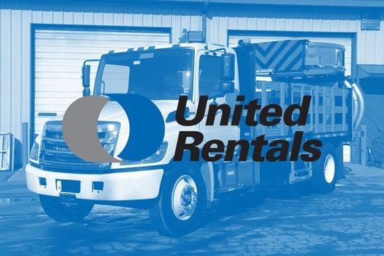 United Rentals TMA Trucks for Rent