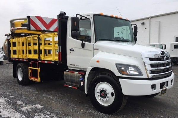 2018 Hino TMA Truck