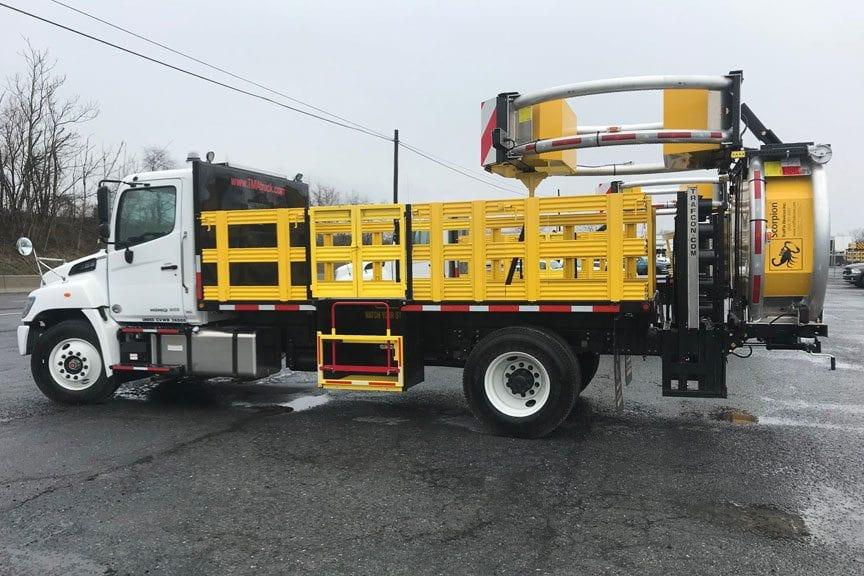 2019 Hino 268A TMA Truck