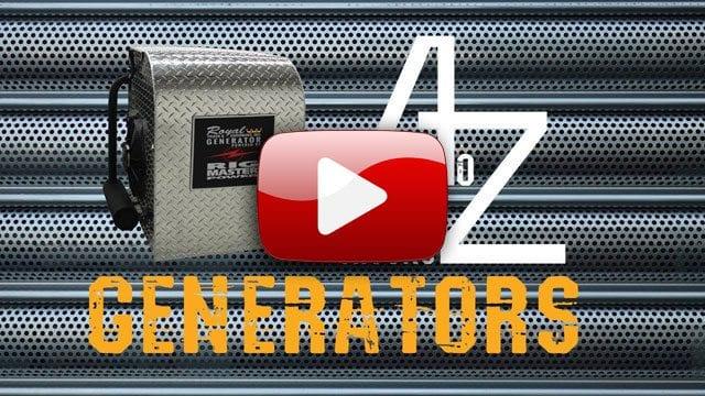 Truck Mounted Generator