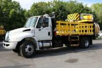 2011 International 4300 15' TMA Truck