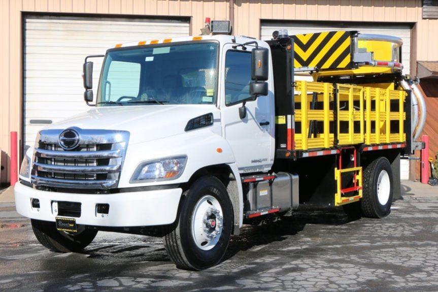 2018 Hino 268A TMA Truck