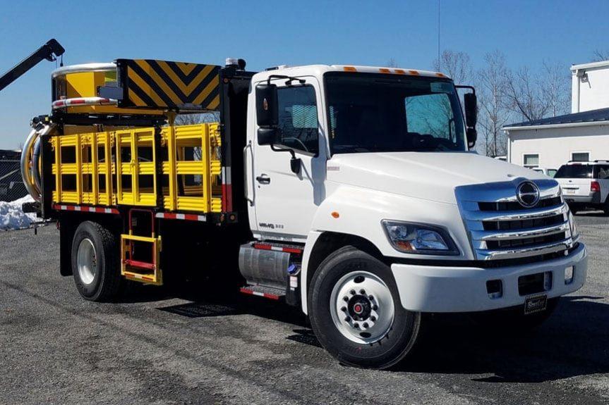 2019 Hino 268A 15' Attenuator Truck
