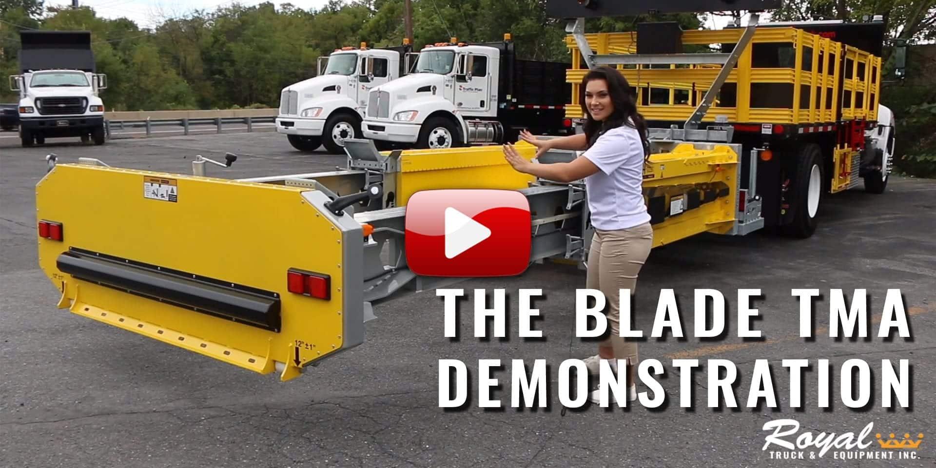Royal Demos the BLADE TMA