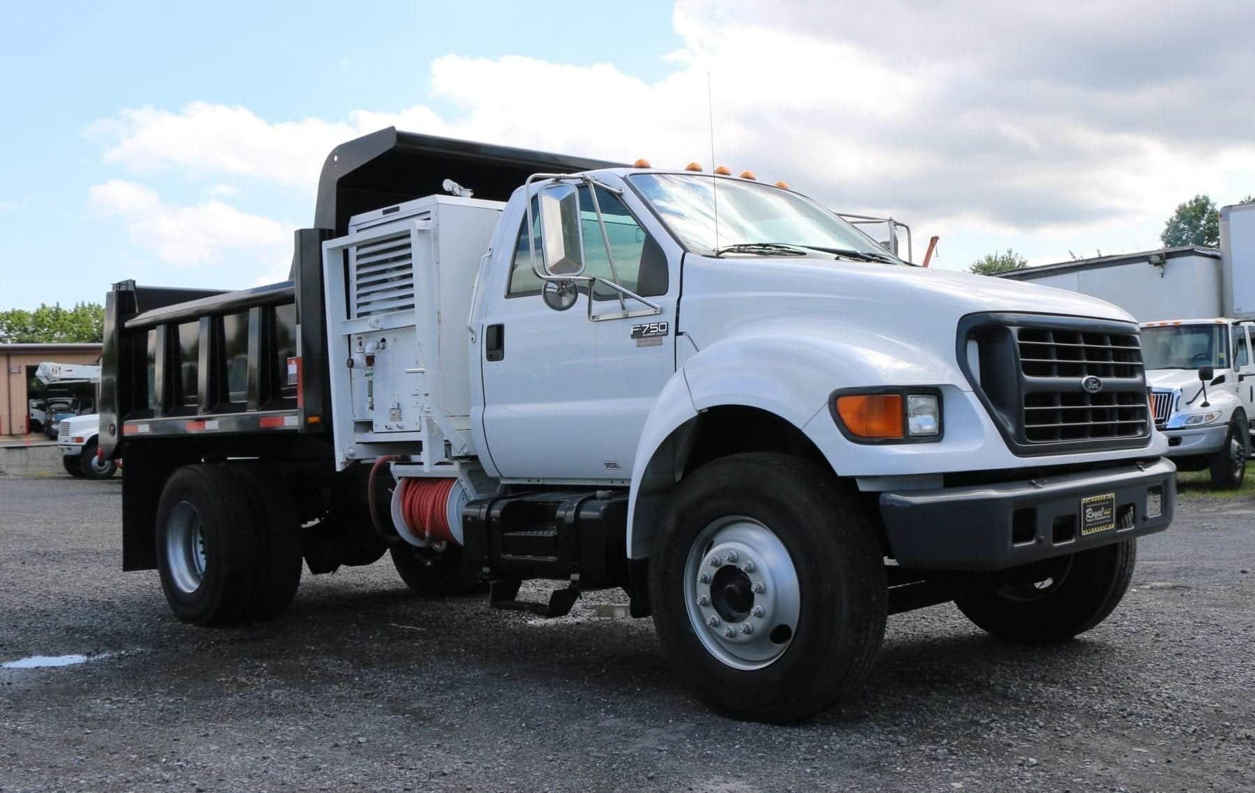 2000 Ford F750 Dump Royal Truck Equipment 1951 1952 Trucks
