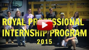 2015 Royal Internship Video
