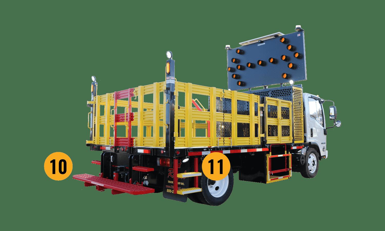 Royal Traffic Control Truck