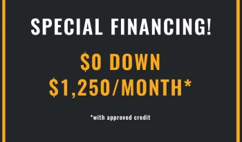 Special Financing for GMC TMA Trucks