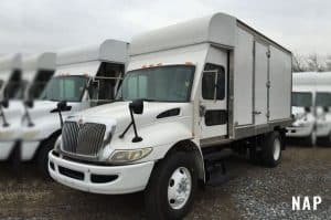 2006 International 4300 TMA Box Truck