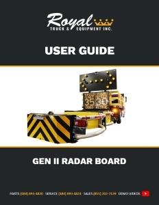 cover_Gen II Radar Board User Guide